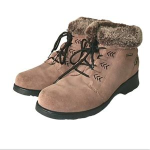 Cobbie Cuddlers suede ankle boots